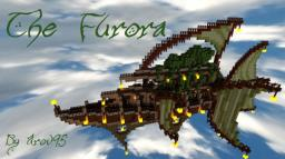 The Furora ~ Elven Airship Minecraft Map & Project