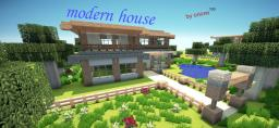 modern house 6 by orionn100 (download) Minecraft Map & Project