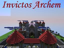 Invictos Archem The Gothic Fortress Minecraft Map & Project