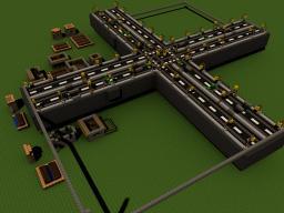 Minecart Kreuzung Minecraft Map & Project