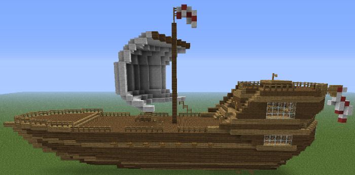 Large ship minecraft project for Things to know when building a house