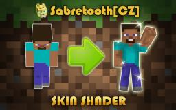 Sabre-Shader! The First Free Skin Shader Minecraft