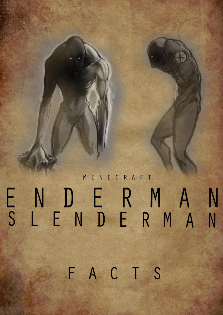 facts why the enderman is so similar to the slenderman