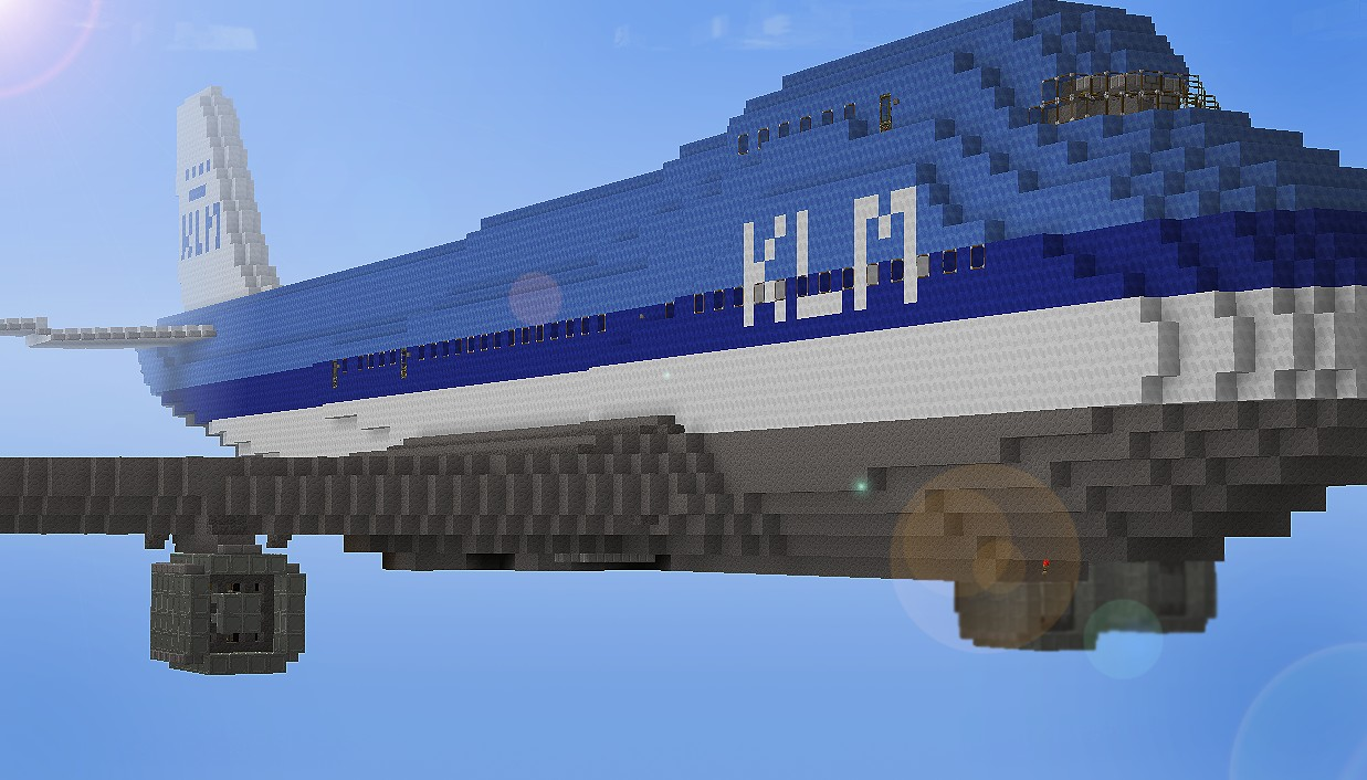 Boeing 747 Klm Minecraft Project
