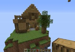 Skyhouse Minecraft Map & Project