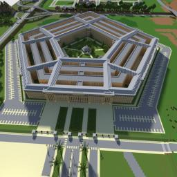 Pentagon replica Minecraft Project