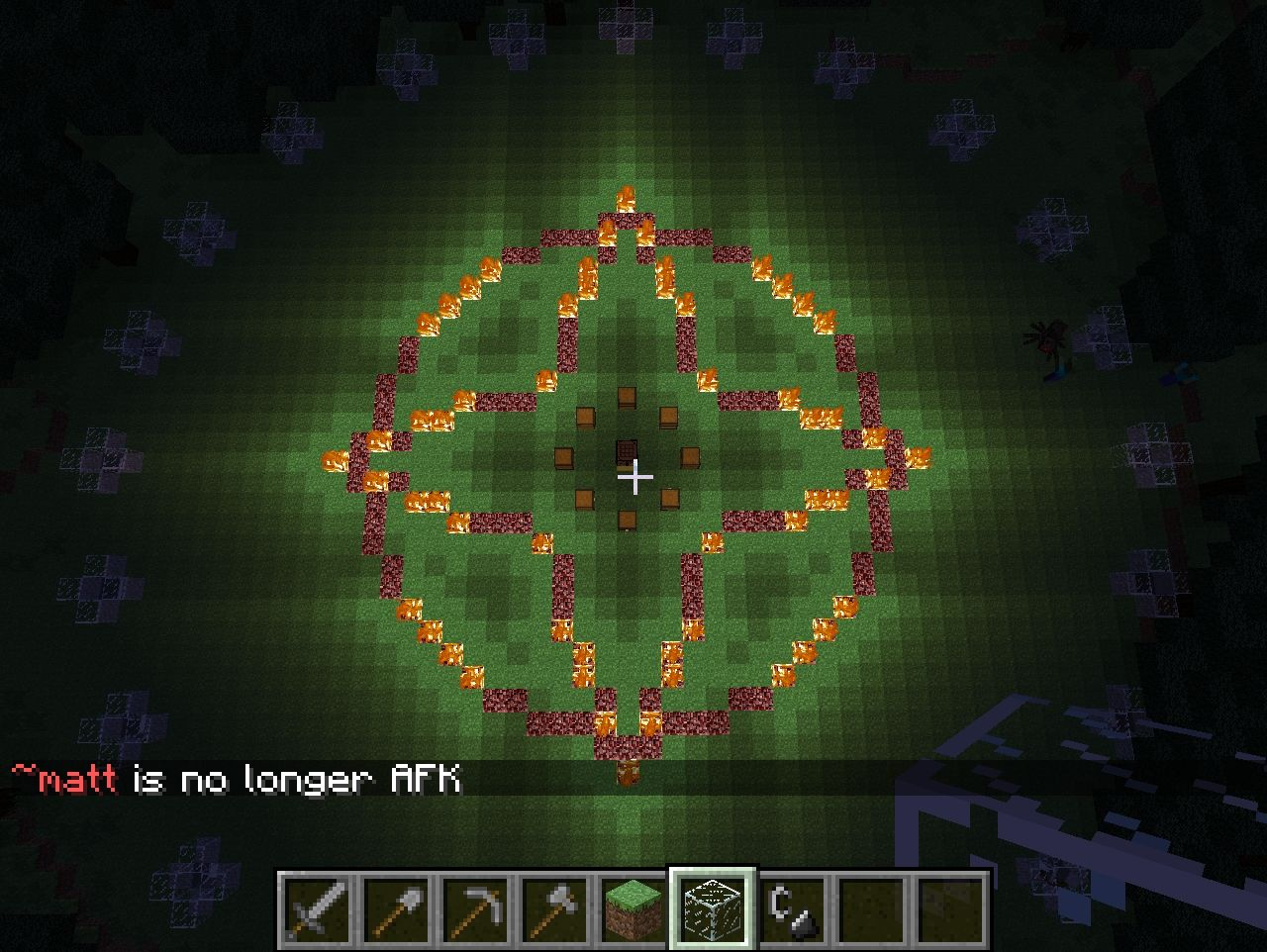 how to turn hunger on minecraft server