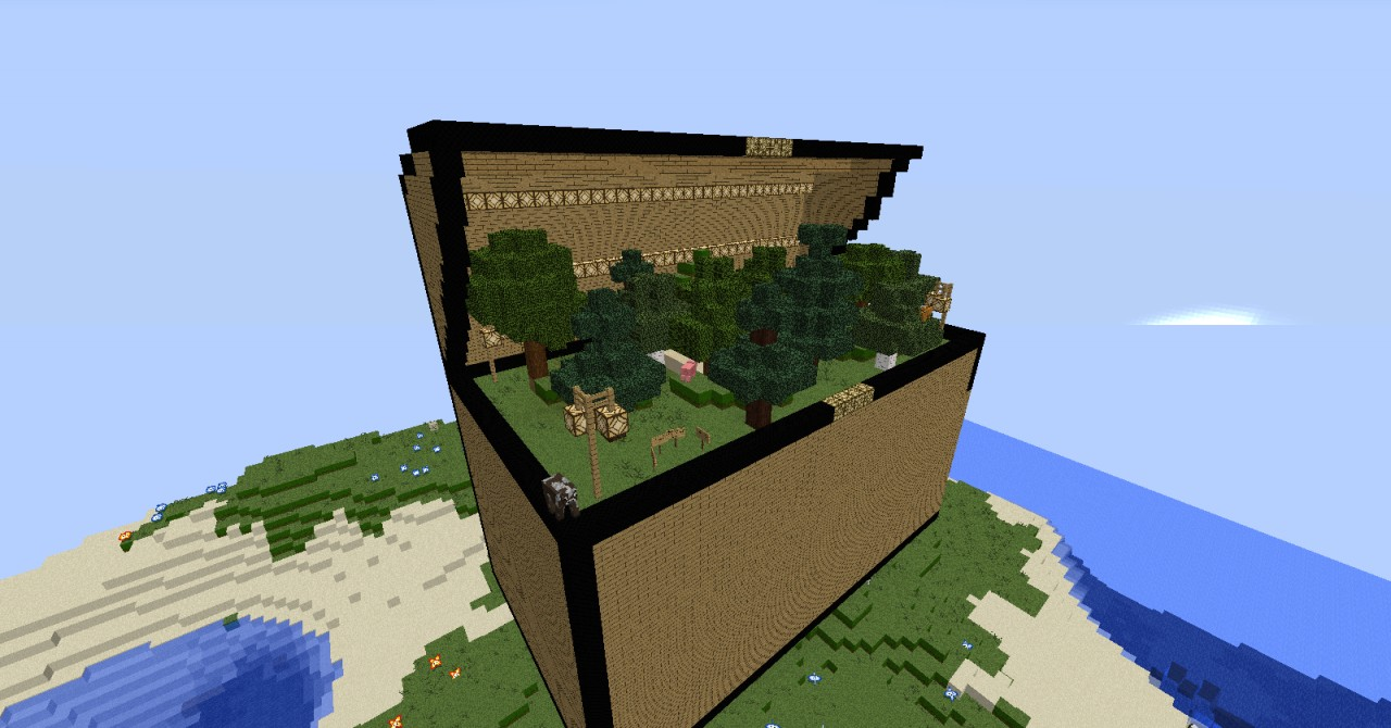 Chest House Minecraft Project