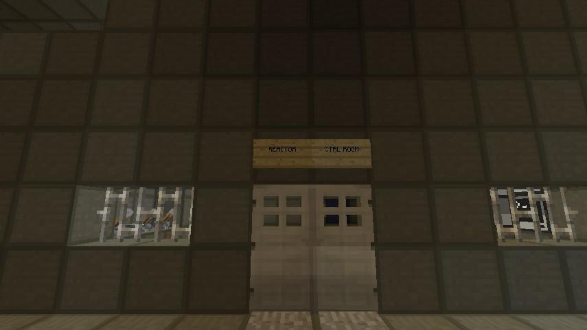 Reactor Control Room