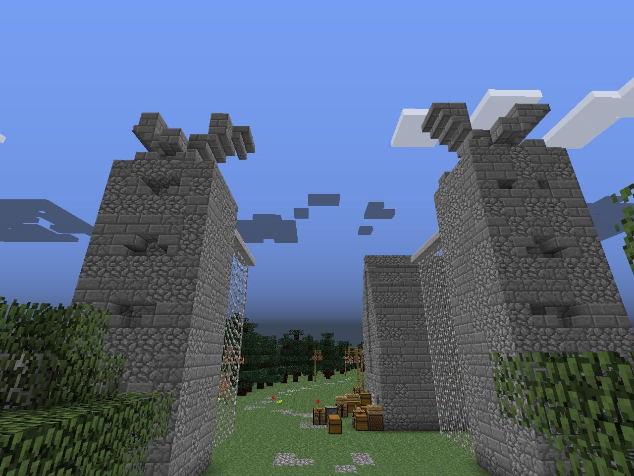 The entrance to Hogwarts / Wejście do Hogwartu