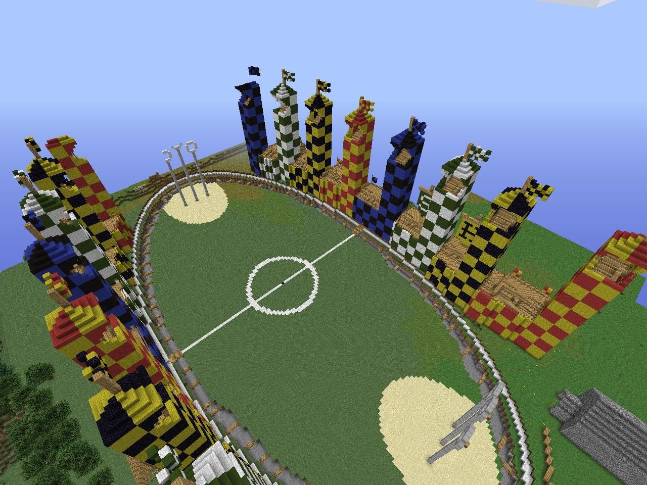Quidditch Stadium / Stadion Quidditch'a