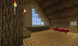 Log House Minecraft Map & Project