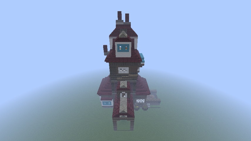 The Burrow Harry Potter Minecraft Harry Potter Burrow Minecraft
