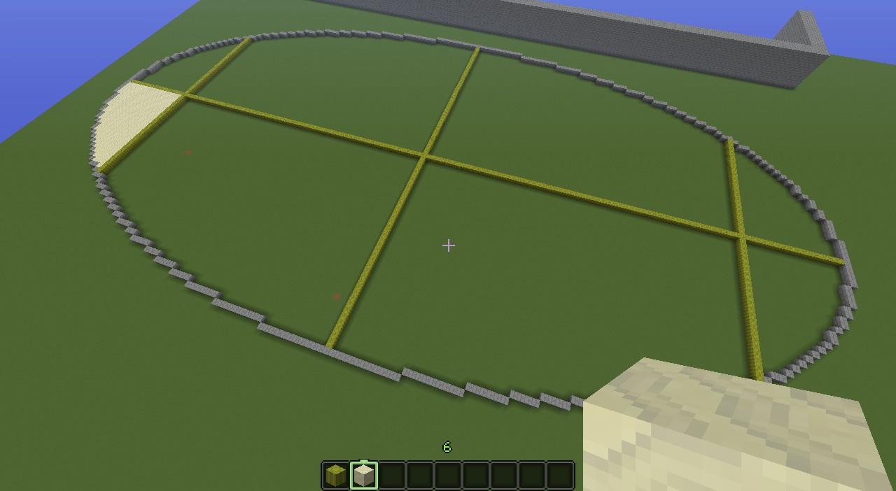 Quidditch Field Minecraft Project