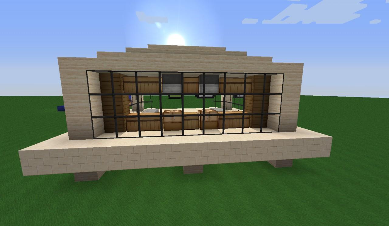 Modern House 4 Minecraft Project