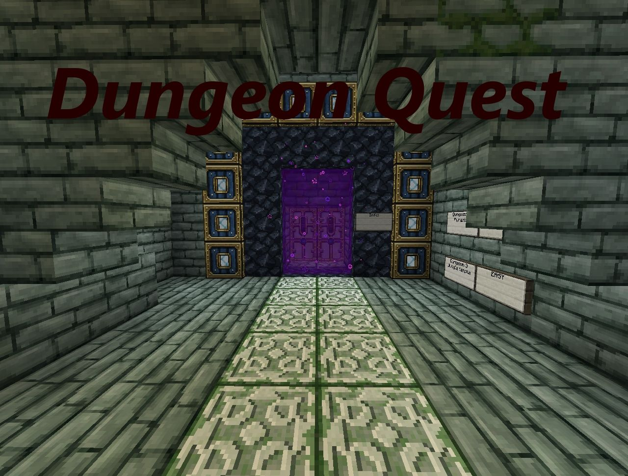 Dungeon Quest! A whole new Minecraft Experience! Minecraft Map