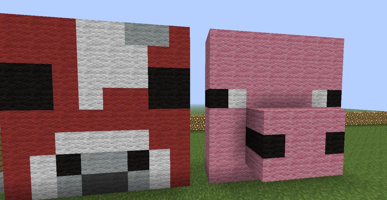 Minecraft Pig Face Minecraft Pig Face | w...