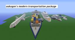 aakagon's modern transportation package v2!