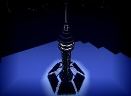 Tron Tower Minecraft Map & Project