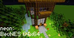 BevNES 64x64 Minecraft Texture Pack