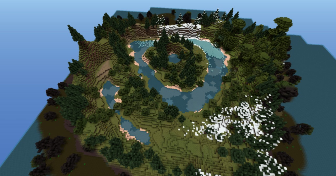Minecraft Survival Island Map crime map