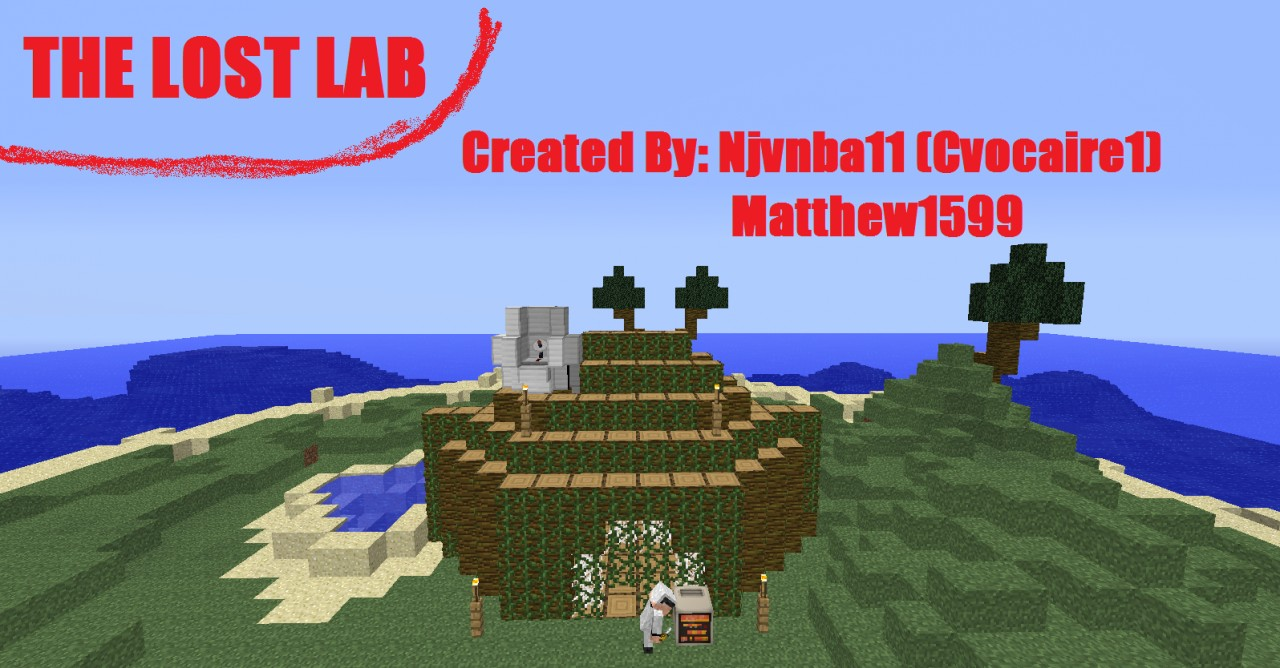 :THE LOST LAB:  --Matthew1599 is The Professer in at the bottom of the screen--