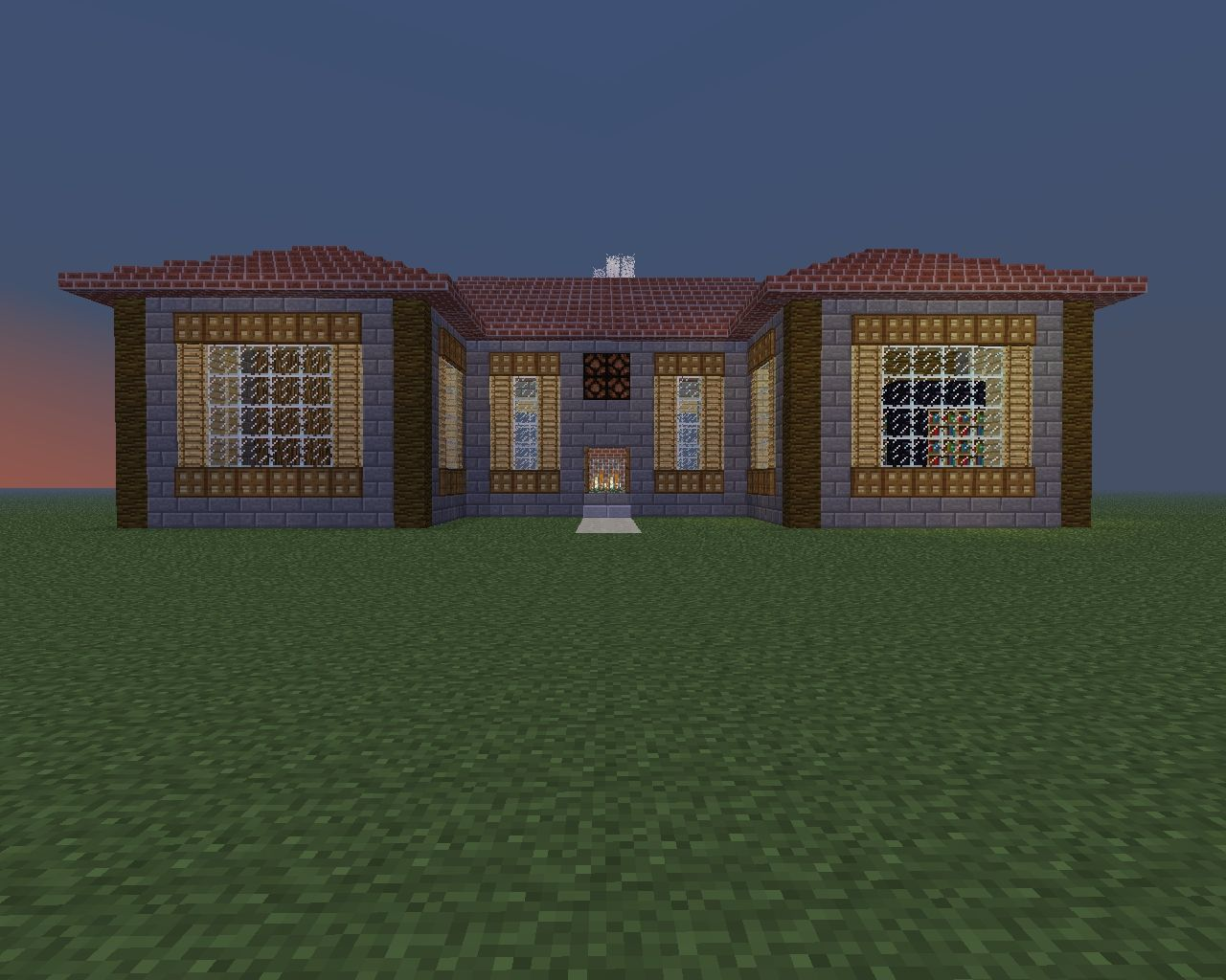 My Own House Design Minecraft Project: design my own home