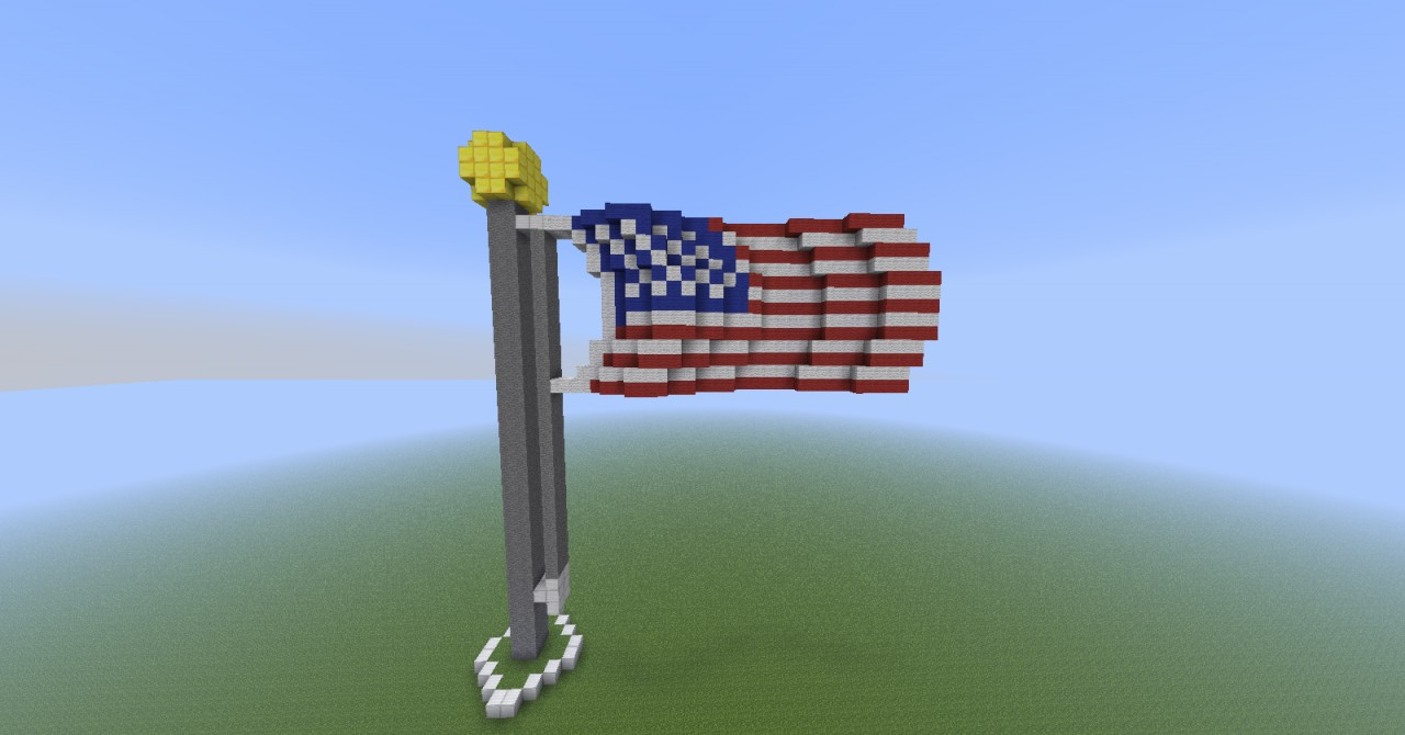 flag day crafts american flag minecraft project 2025