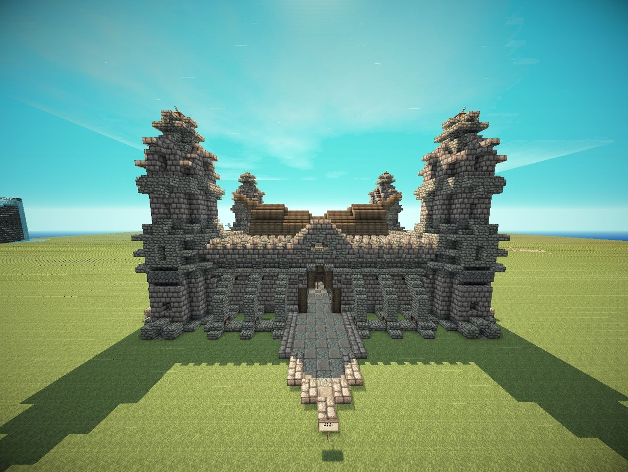 Small Highly Detailed Fort Minecraft Project