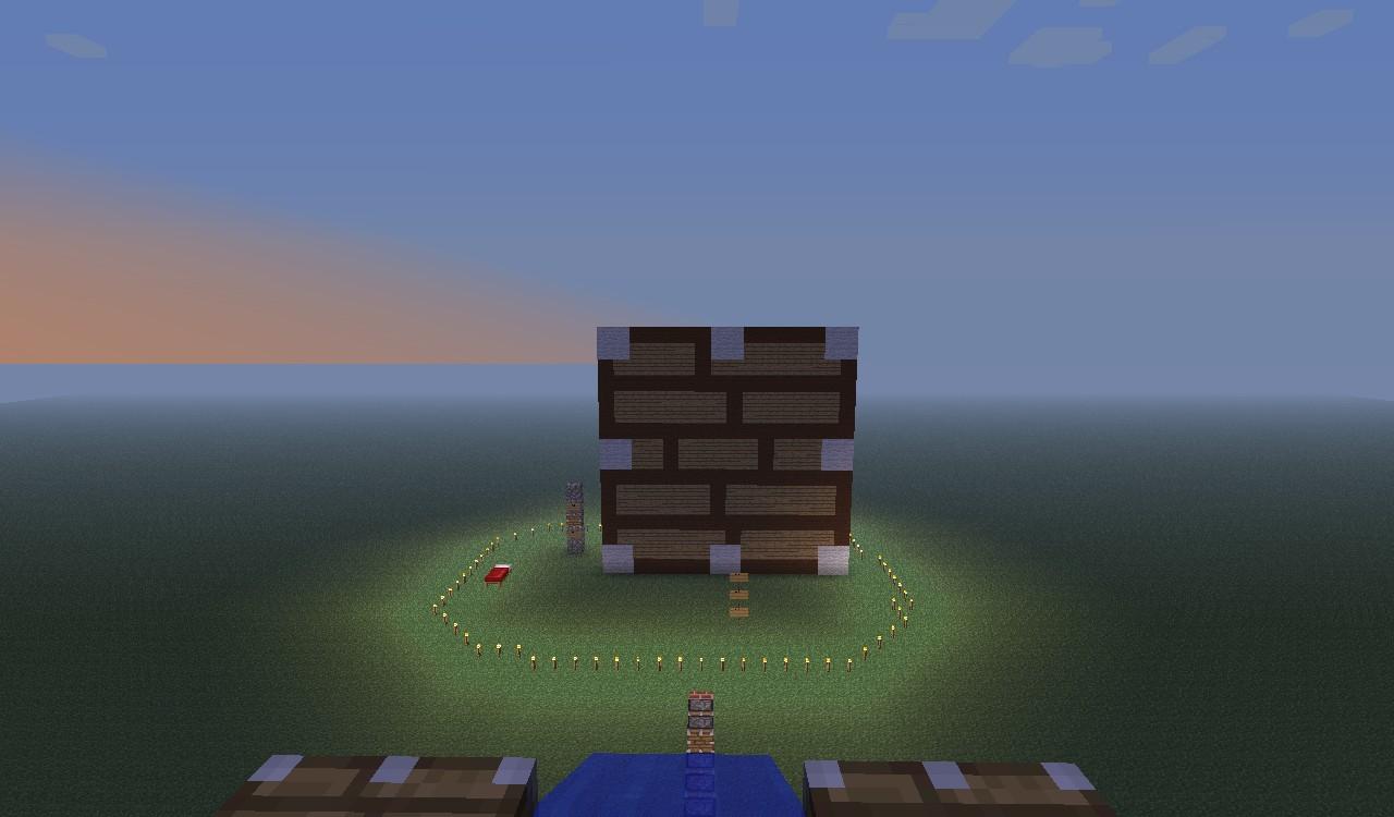 Pixel Art 1 - Piston Face Minecraft Project