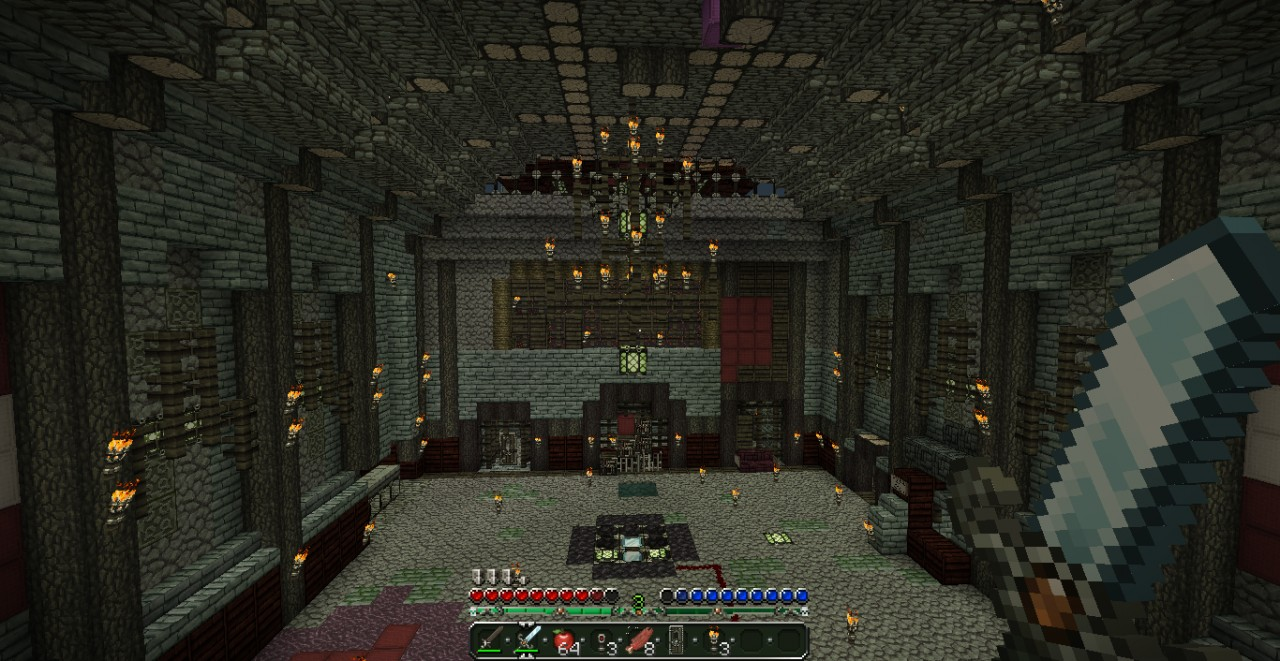 Kino der toten zombies v 1 0 minecraft project for Zombie balcony