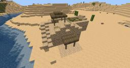 Desert City Let's Build Jamziboy Inspired Minecraft Map & Project