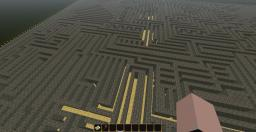Impossible maze (but still possible o_0) Minecraft Project