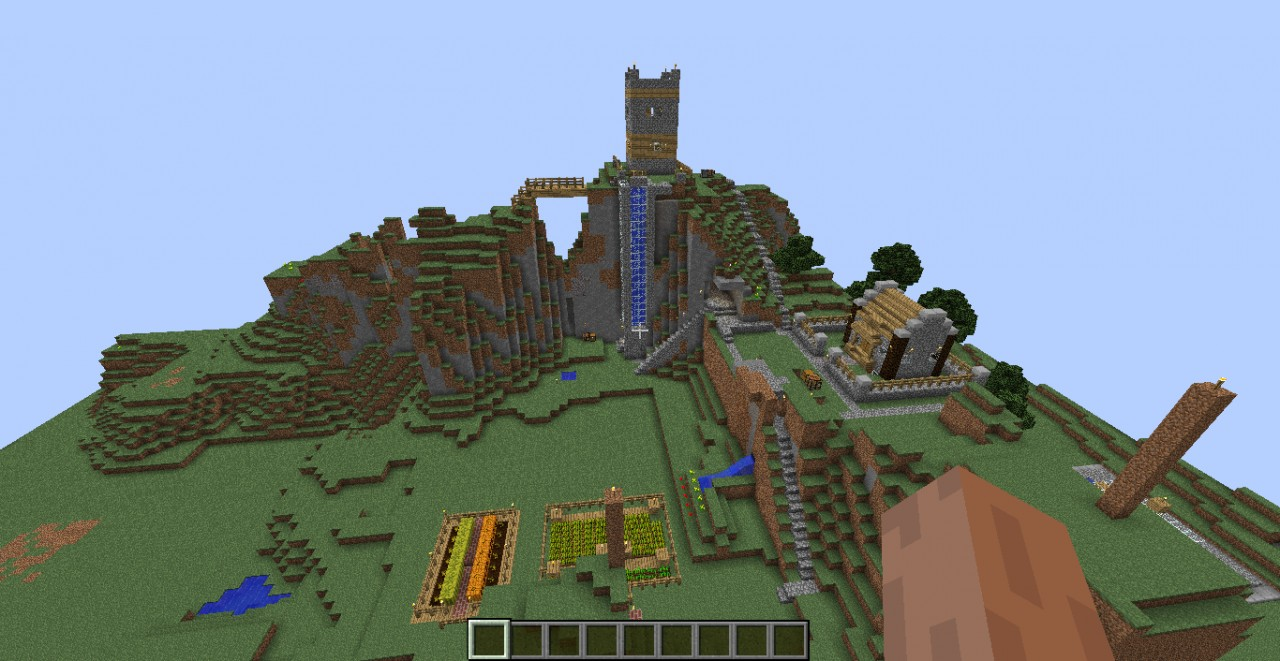 how to get a normal minecraft world skyfactory