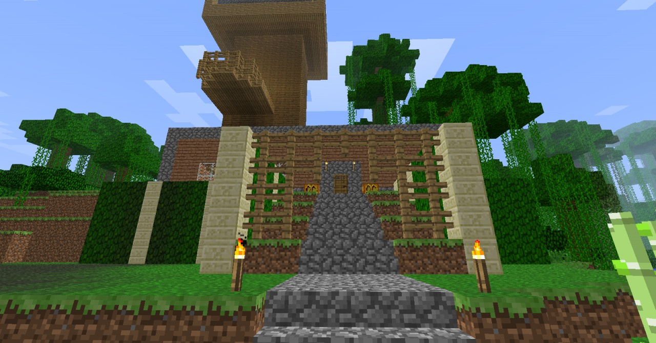 how to build a complete minecraft map
