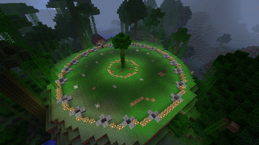 Jungle Hunger Games map spawn
