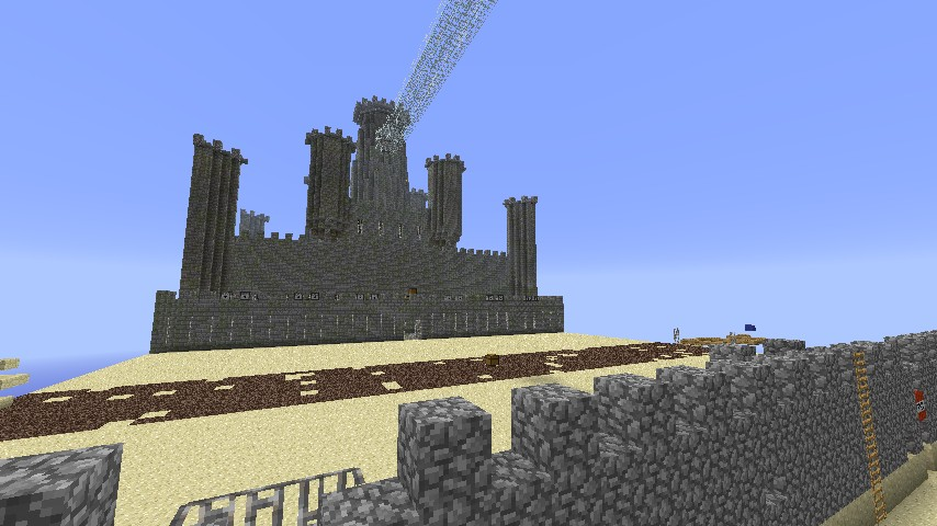 One spawn of capture the wool map