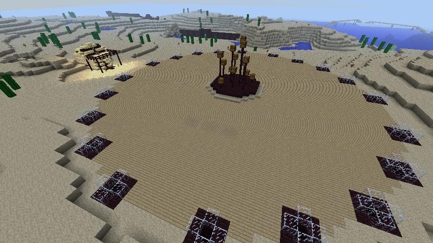 Desert hunger games spawn