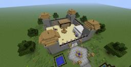 Refugee Camp Minecraft Map & Project
