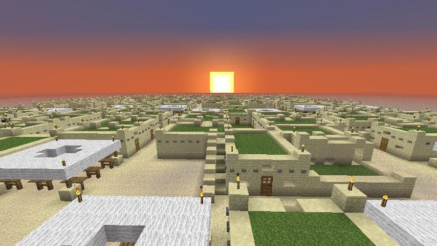 Kwal Hir Arabic Medievial City Minecraft Project