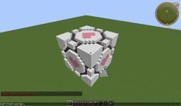 Companion Cube! Minecraft Project