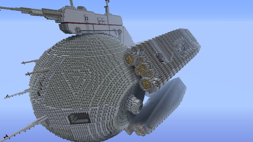 Front section of the Dreadnaught