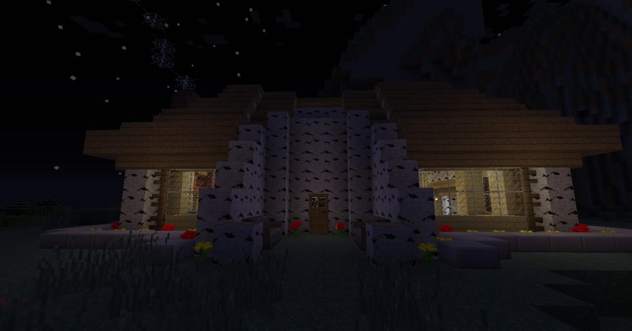 Birch Wood House Minecraft Map