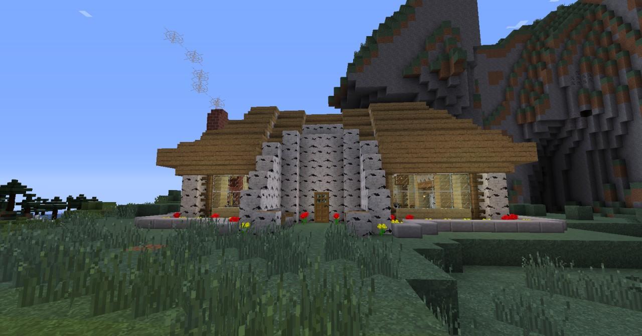 Minecraft Birch Wood Houses