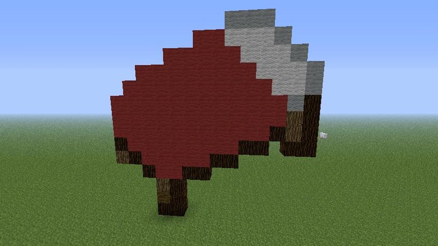 Bed Pixel Art Minecraft Project