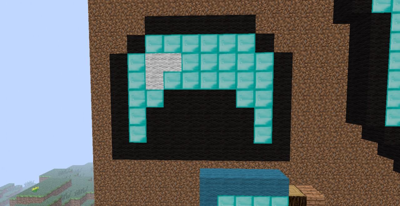 Diamond Helmet Minecraft Project
