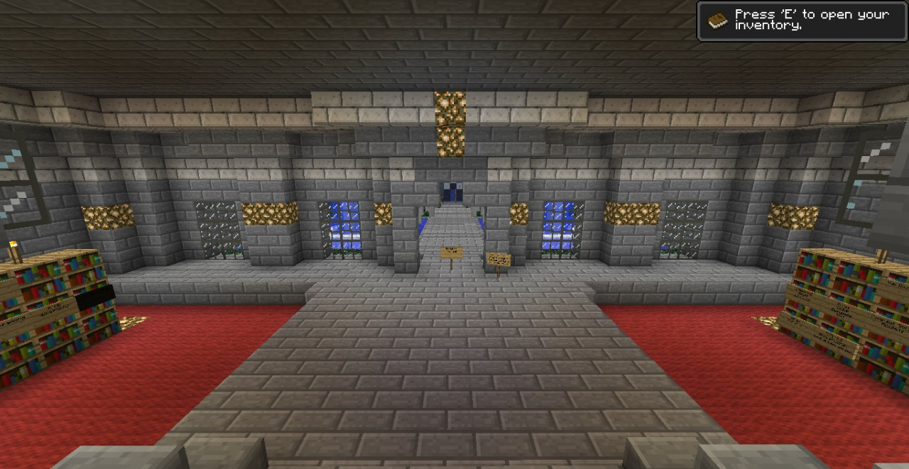This is the room you will spawn in!