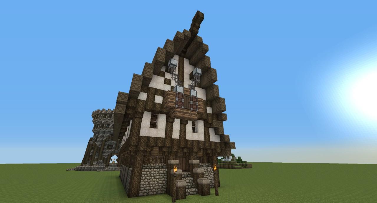 Medieval ShopHouse Minecraft Project