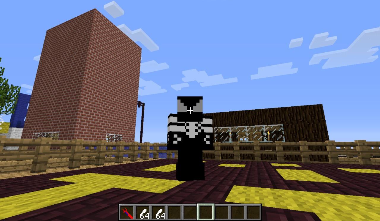 Black Spider Suit