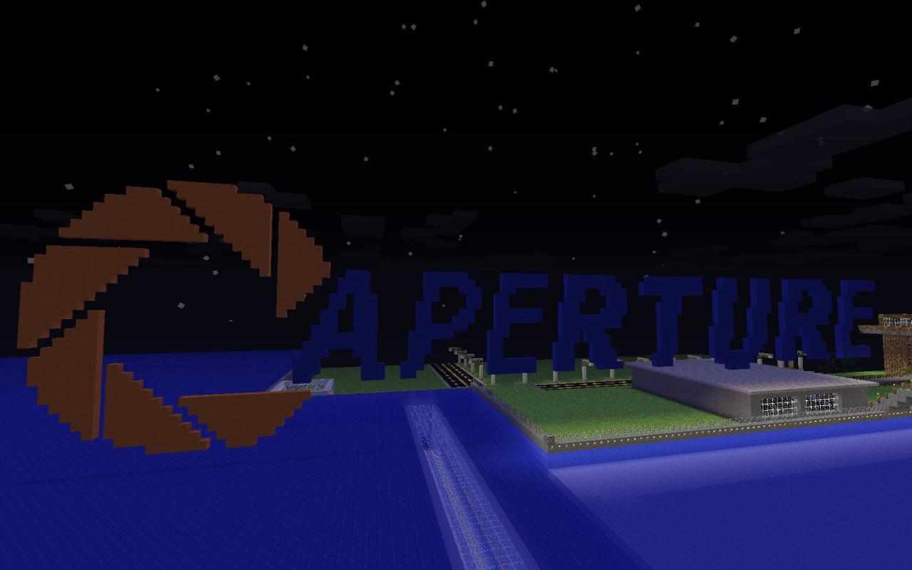 aperture science enrichment center minecraft project